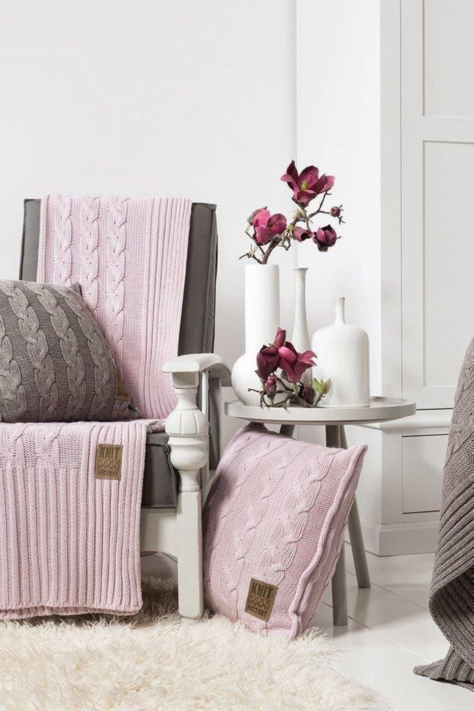 Knit Factory Knit Factory Sasha Plaid Roze