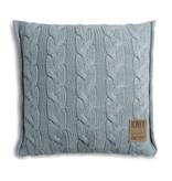 Knit Factory Knit Factory Sasha Kissen 50x50 Stone Green