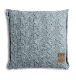 Knit Factory Sasha Kussen 50x50 Stone Green