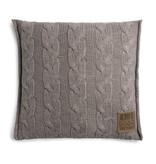 Knit Factory Knit Factory Sasha Kissen 50x50 Taupe