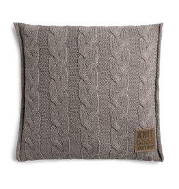 Knit Factory Sasha Kissen 50x50 Taupe