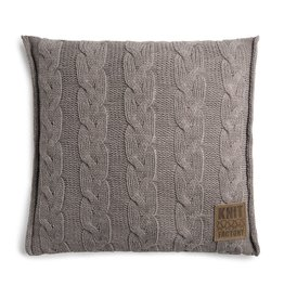 Knit Factory Sasha Kussen 50x50 Taupe