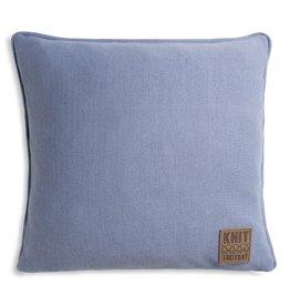 Knit Factory Finn Kissen 50x50 Indigo