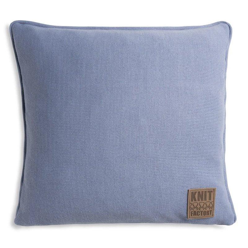 Knit Factory Knit Factory Finn Kissen 50x50 Indigo