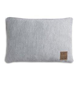 Knit Factory Finn Kissen 60x40 Grau