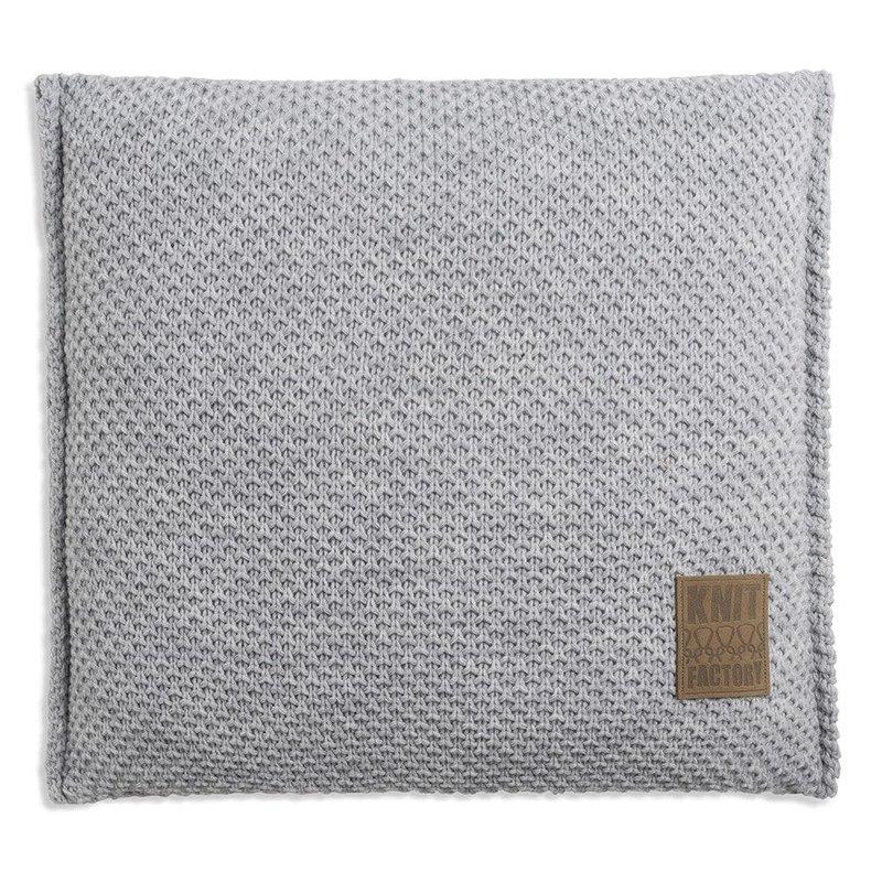 Knit Factory Knit Factory Lynn Kissen 50x50 Grau