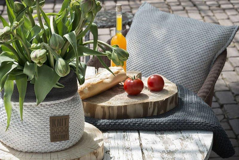 Knit Factory Knit Factory Lynn Kussen 50x50 Stone Green
