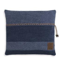 Knit Factory Roxx Kussen 50x50 Jeans/Indigo