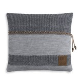 Knit Factory Knit Factory Roxx Kussen 50x50 Grijs/Antraciet