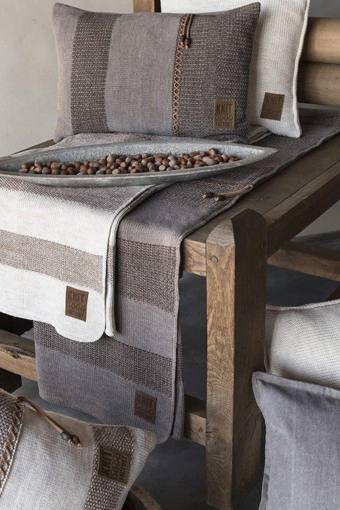 Knit Factory Knit Factory Roxx Plaid Beige/Marron