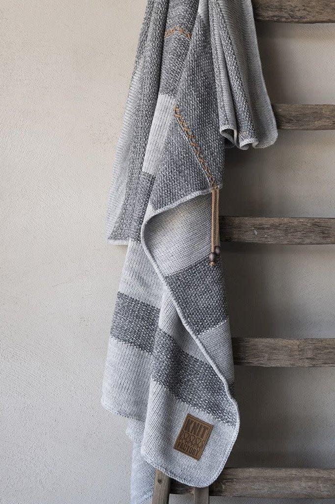 Knit Factory Knit Factory Roxx Plaid Grijs/Antraciet