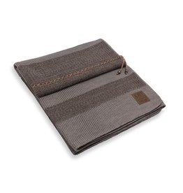 Knit Factory Roxx Plaid Braun/Taupe