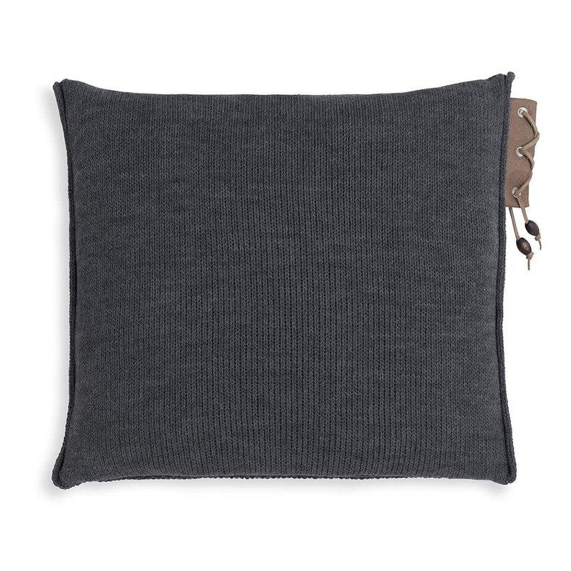 Knit Factory Knit Factory Jay Kissen 50x50 Anthrazit