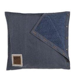 Knit Factory Rick Kissen 50x50 Jeans/Indigo