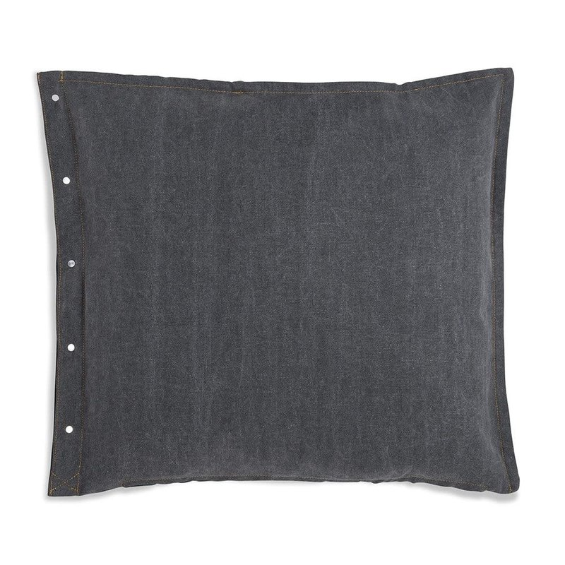 Knit Factory Knit Factory Rick Kissen 50x50 Grau/Anthrazit
