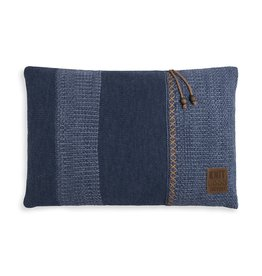 Knit Factory Roxx Kussen 60x40 Jeans/Indigo