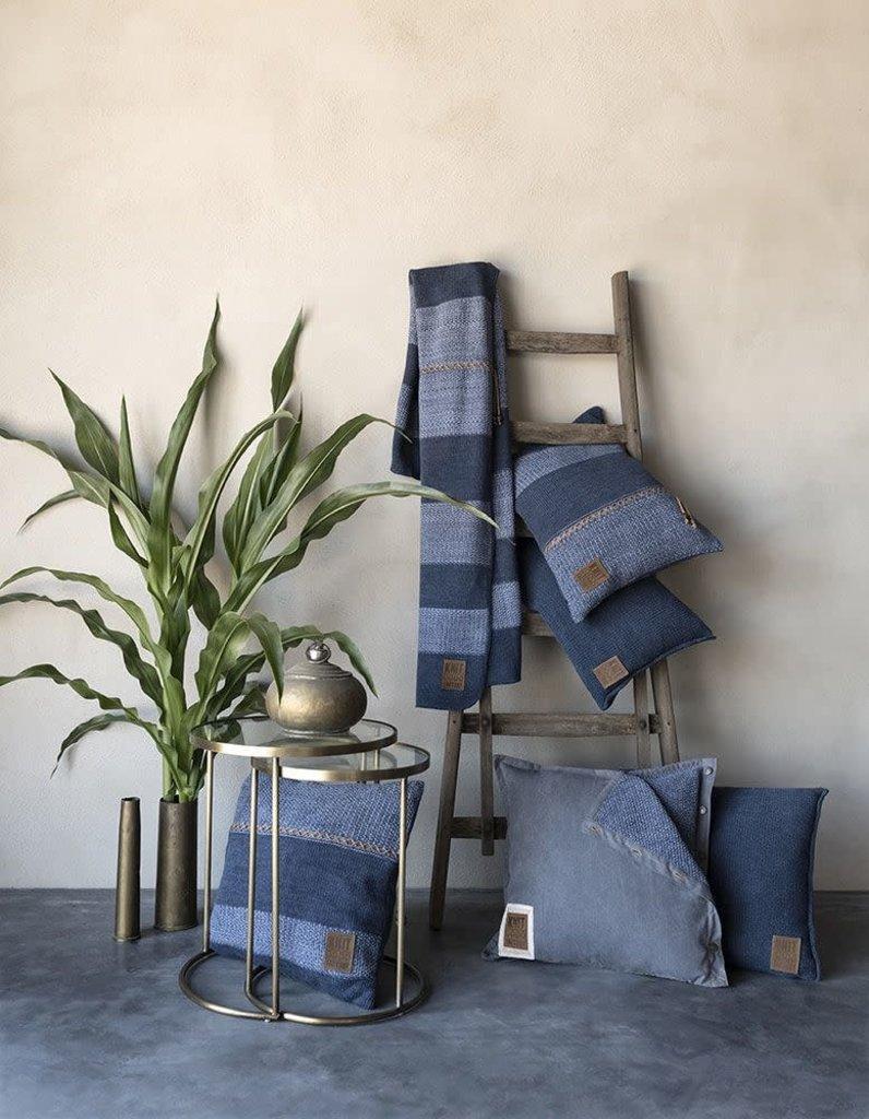 Knit Factory Knit Factory Roxx Kussen 60x40 Jeans/Indigo