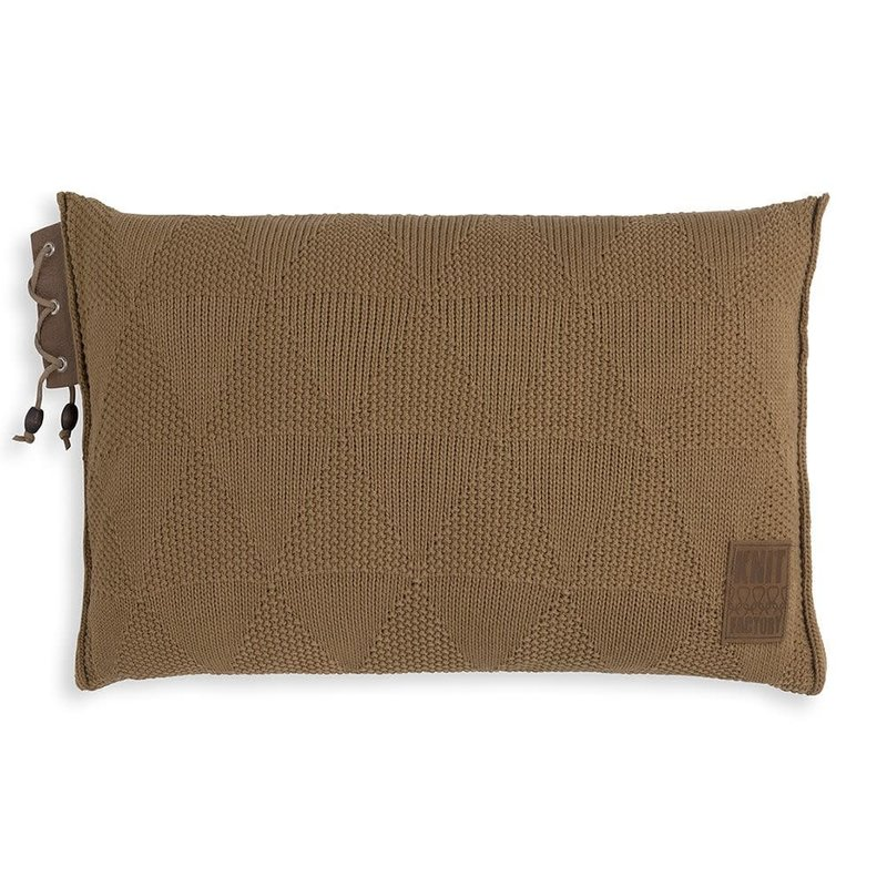 Knit Factory Knit Factory Jay Kussen 60x40 New Camel
