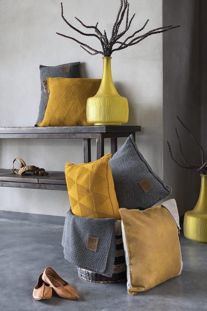 Knit Factory Knit Factory Jay Kussen 60x40 Licht Grijs