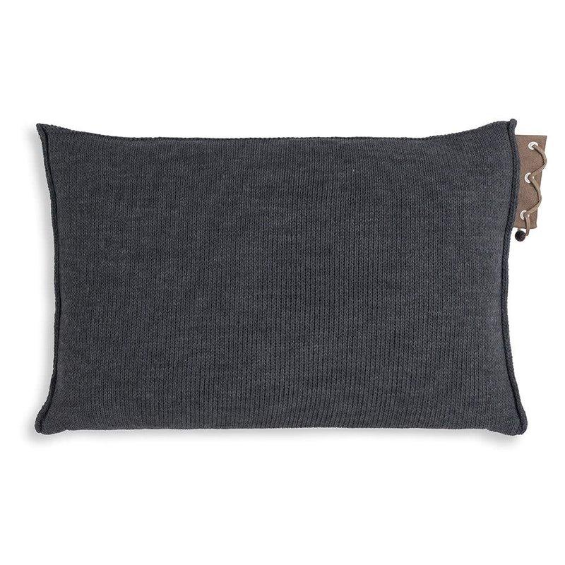 Knit Factory Knit Factory Jay Kissen 60x40 Anthrazit
