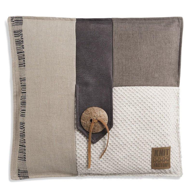Knit Factory Knit Factory Lex Kussen 50x50 Beige
