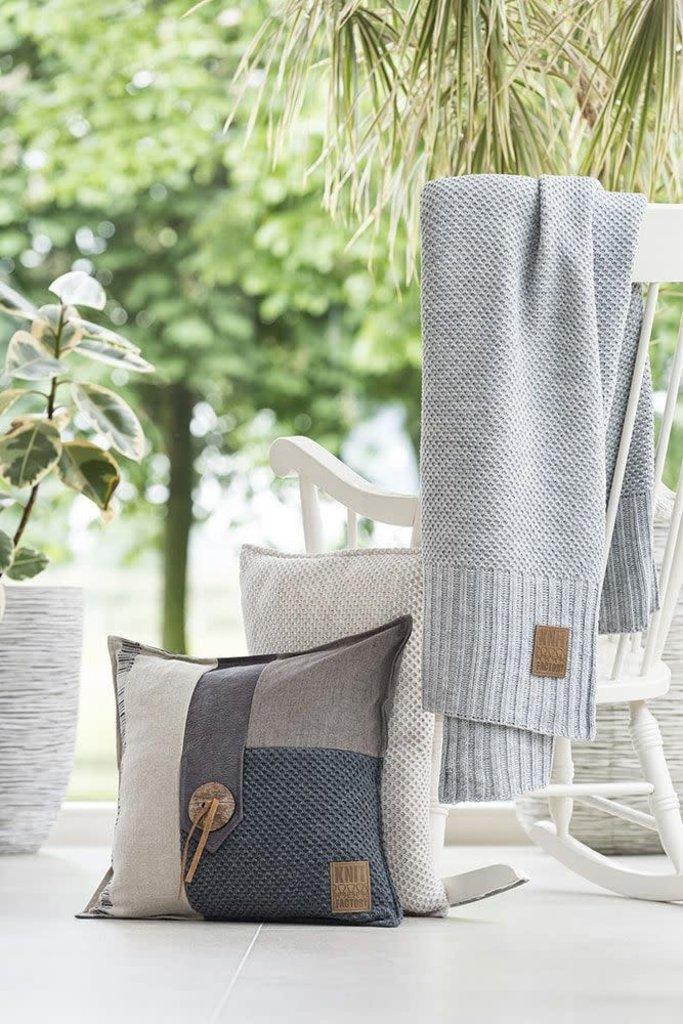 Knit Factory Knit Factory Lex Kussen 50x50 Olive