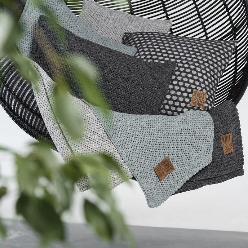 Knit Factory Knit Factory Maxx Kussen 60x40 Licht Grijs