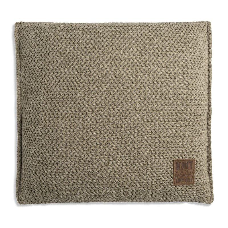 Knit Factory Knit Factory Maxx Kissen 50x50 Oliv