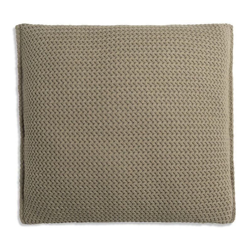 Knit Factory Knit Factory Maxx Kussen 50x50 Olive