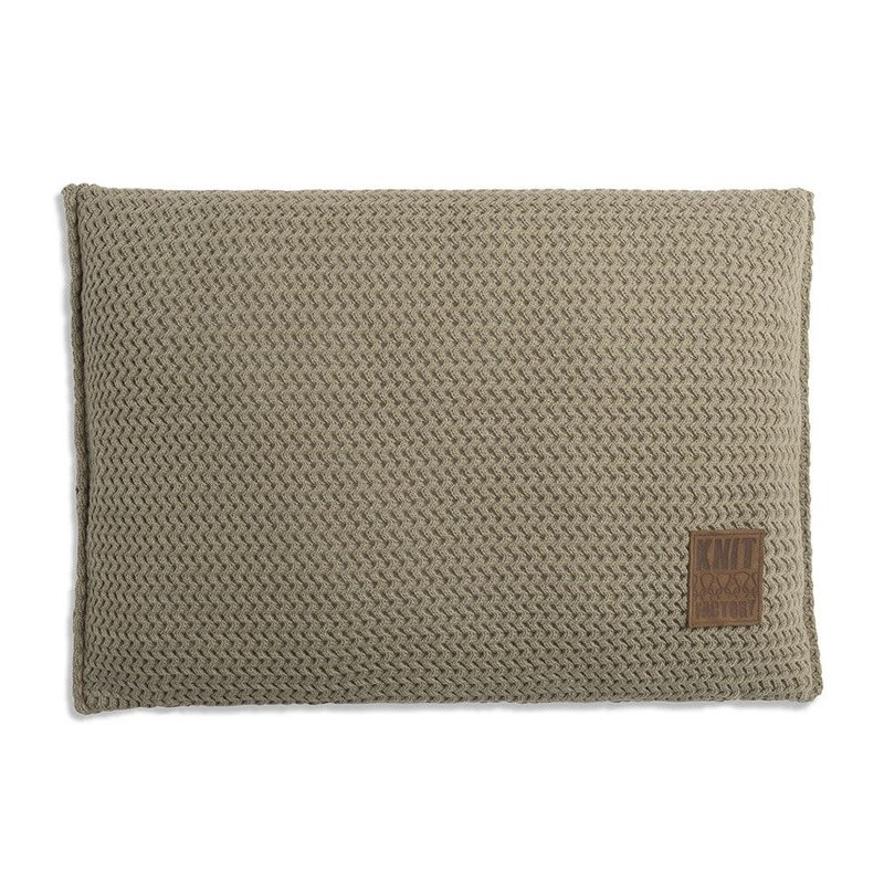 Knit Factory Knit Factory Maxx Kussen 60x40 Olive