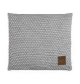 Knit Factory Knit Factory Juul Kussen 50x50 Licht Grijs/Beige