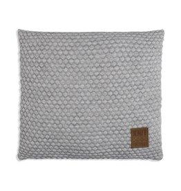 Knit Factory Juul Kussen 50x50 Licht Grijs/Beige