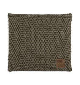 Knit Factory Juul Kussen 50x50 Groen/Olive