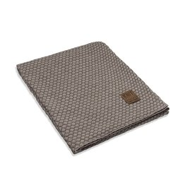 Knit Factory Juul Plaid Marron/Beige