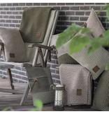 Knit Factory Knit Factory Juul Plaid Licht Grijs/Beige