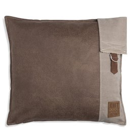 Knit Factory Luc Kussen 50x50 Taupe