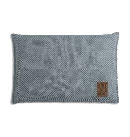 Knit Factory Zoë Kissen 60x40 Stone Green Melee