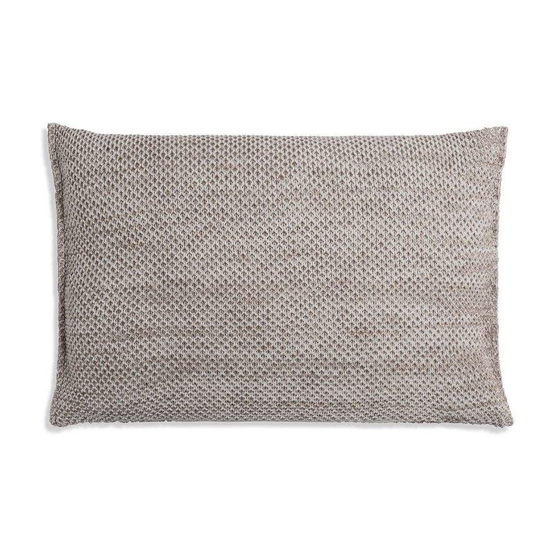 Knit Factory Knit Factory Zoë Kussen 60x40 Beige Mêlee