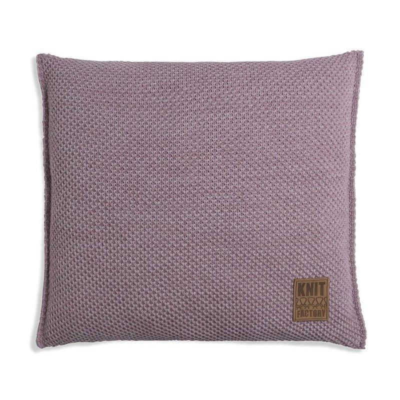 Knit Factory Knit Factory Zoë Kussen 50x50 Heartwood Mêlee