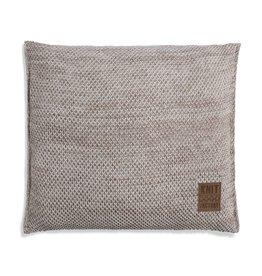 Knit Factory Zoë Kissen 50x50 Beige Melee