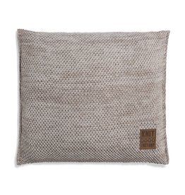 Knit Factory Zoë Kussen 50x50 Beige Mêlee