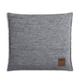 Knit Factory Knit Factory Zoë Kussen 50x50 Licht Grijs Mêlee