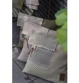 Knit Factory Knit Factory Jack Kussen 50x50 Antraciet/Licht grijs