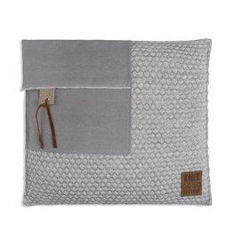Knit Factory Jack Kussen 50x50 Licht Grijs/Beige