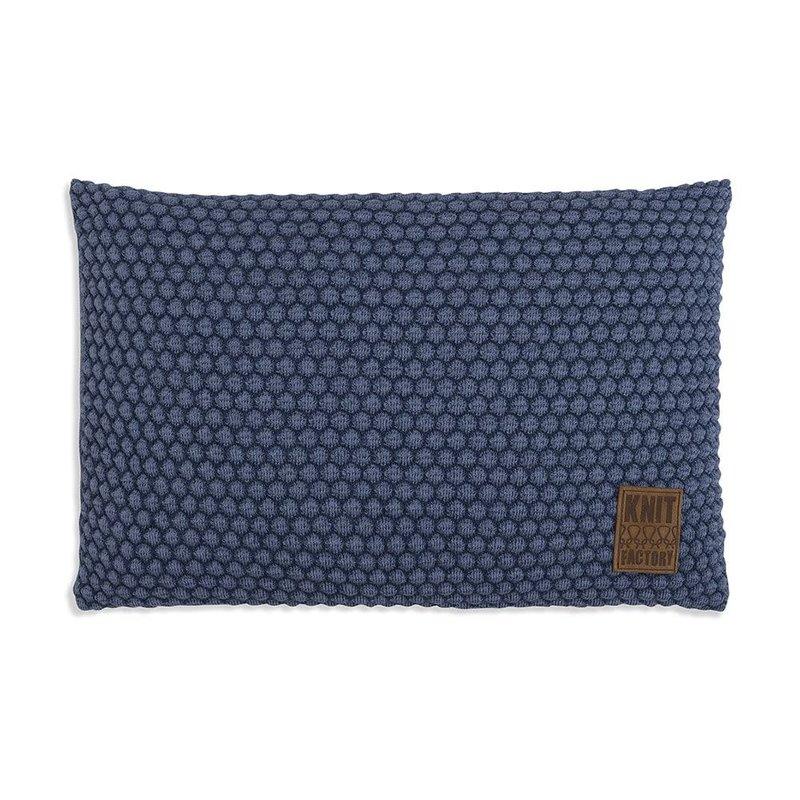 Knit Factory Knit Factory Juul Kussen 60x40 Jeans/Indigo