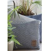 Knit Factory Knit Factory Juul Kussen 60x40 Antraciet/Licht Grijs