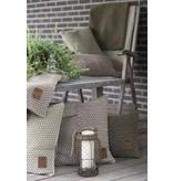 Knit Factory Knit Factory Juul Kissen 60x40 Anthrazit/Grau