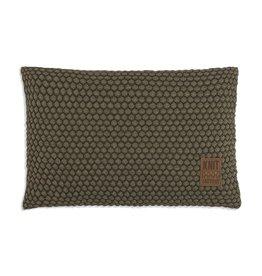 Knit Factory Juul Kussen 60x40 Groen/Olive