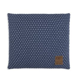 Knit Factory Juul Kissen 50x50 Jeans/Indigo