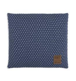Knit Factory Juul Kussen 50x50 Jeans/Indigo